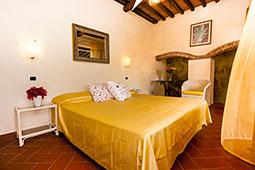 Camera matrimoniale Hotel Cernia